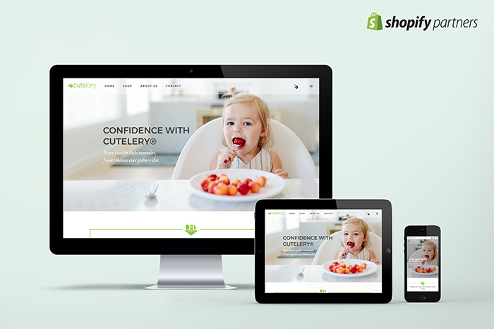 Cutelery Website Design