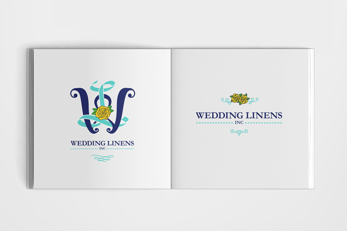 Wedding Linens Brand Design